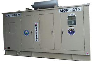máy phát điện mitsubishi 275kva mới 90%